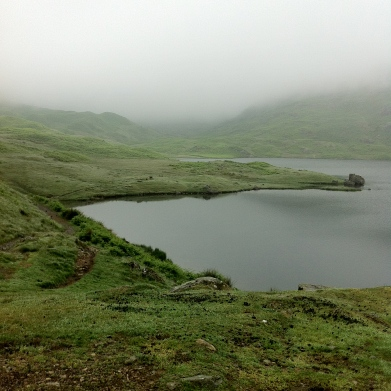 Easedale tarn, lake district