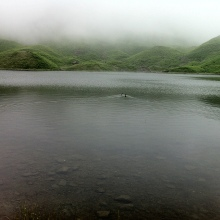 Easedale Tarn, Lake District, libby page